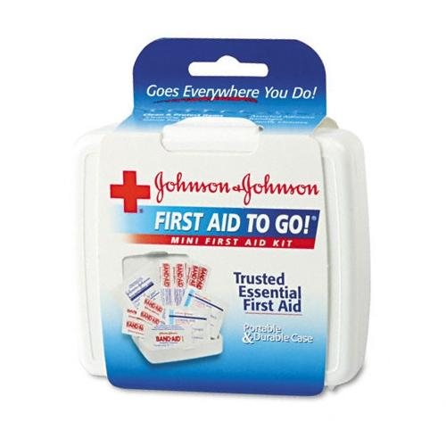 Mini First Aid To Go Kit-12-Pieces, Plastic Case-8295