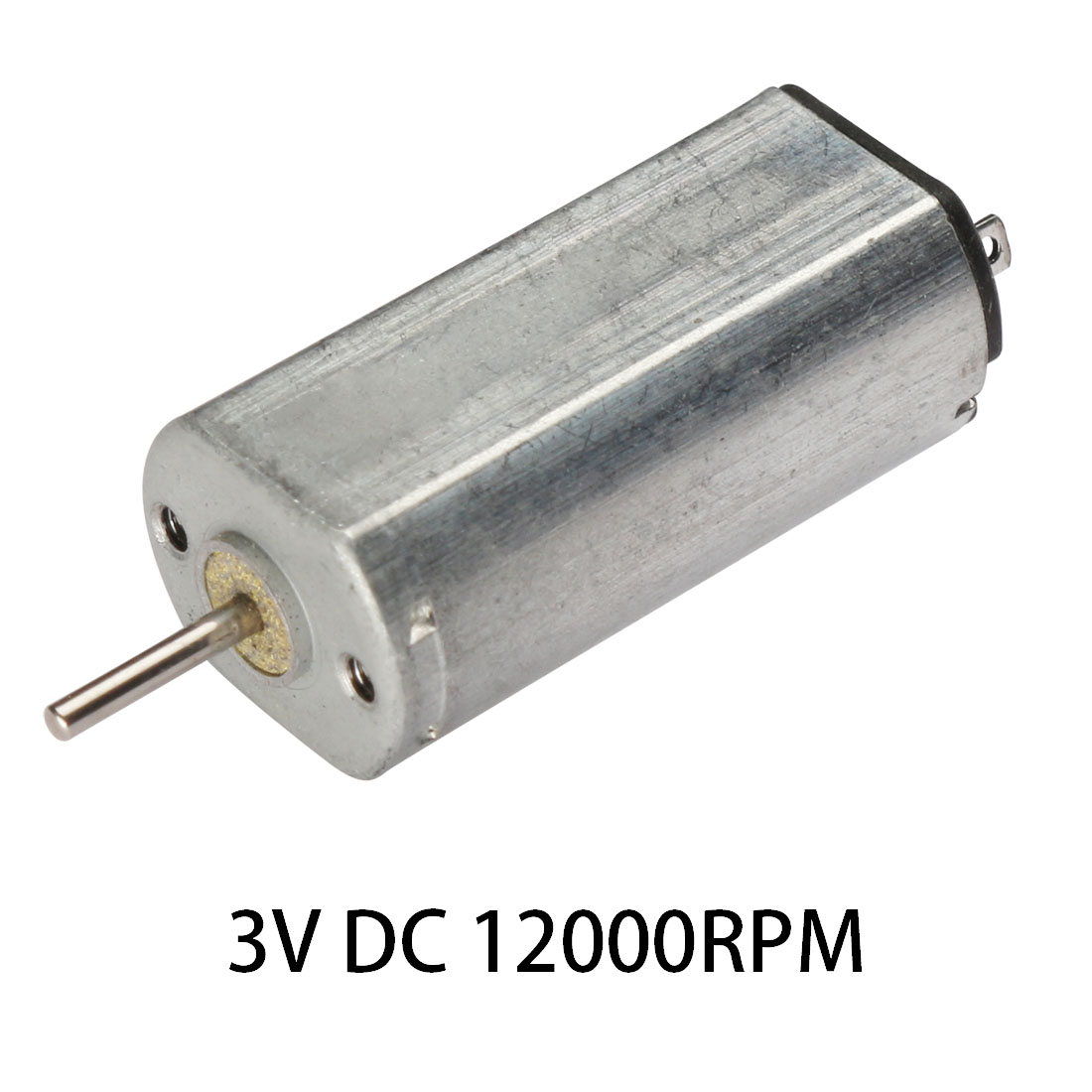 3V DC 12000RPM High-power Torque Magnetic Mini Electric Motor Electrical Tools