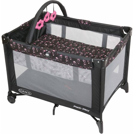 Graco Pack N Play With Automatic Folding Feet Playard  Priscilla