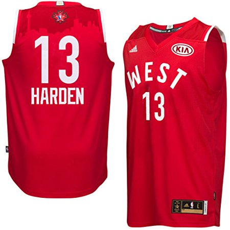 free shipping fe9b3 ba7b8 James Harden #13 Men's NBA 2016 Toronto All Star Western ...