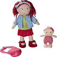 Haba Doll Rubina with Baby, 12""