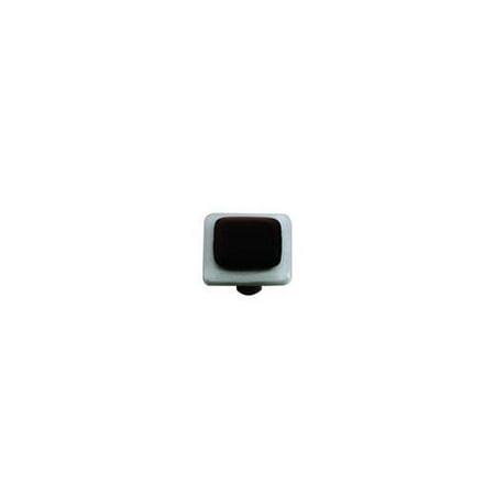 (Powder Blue Border Black Knob (Set of 10) (Aluminum))