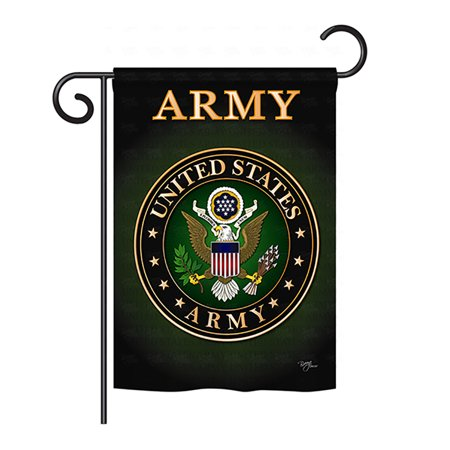 Breeze Decor - Army Americana - Everyday Military Impressions Decorative Vertical Garden Flag 13