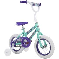 "Huffy 12"" Sea Star Girls Bike for Kids', Mint Green"