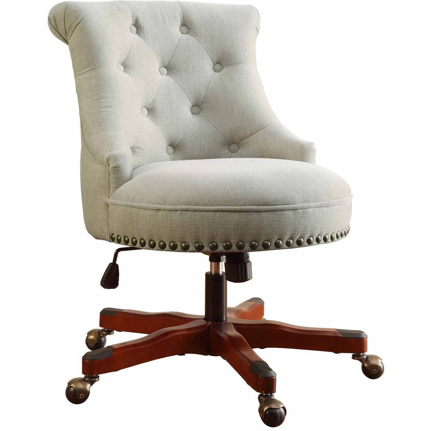 Linon Sinclair fice Chair Multiple Finishes 20 24 inch Seat