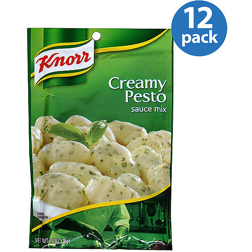 Knorr Creamy Pesto Sauce Mix, 1.2 oz, (Pack of 12)
