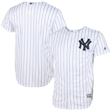 - New York Yankees Majestic Youth Official Cool Base Jersey - White
