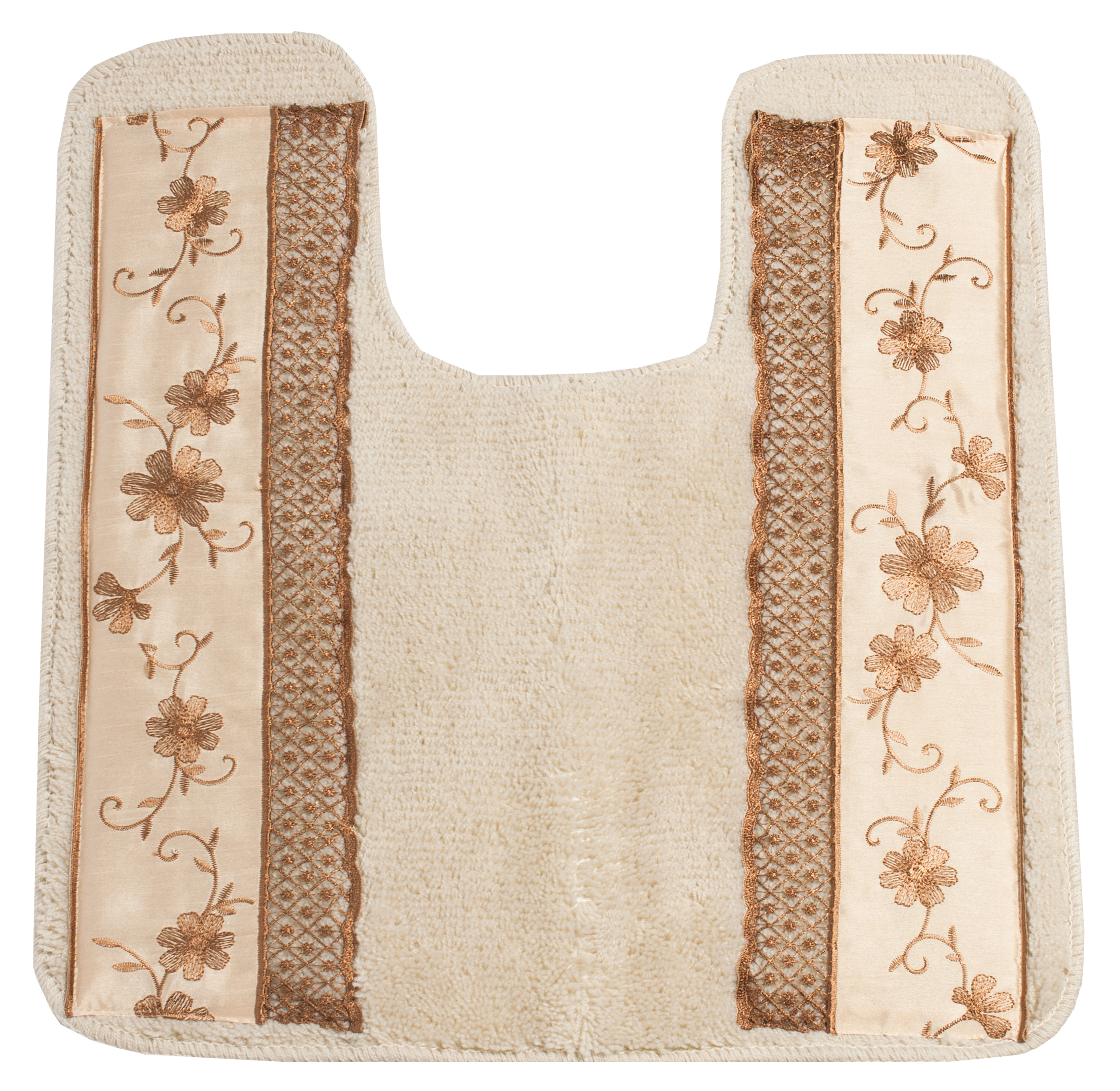 Popular Bath Veronica Bath Collection Bathroom Contour Commode Rug