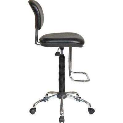 Economical Stacking Chairs - WorkSmart Economical Chair with Chrome Footrest