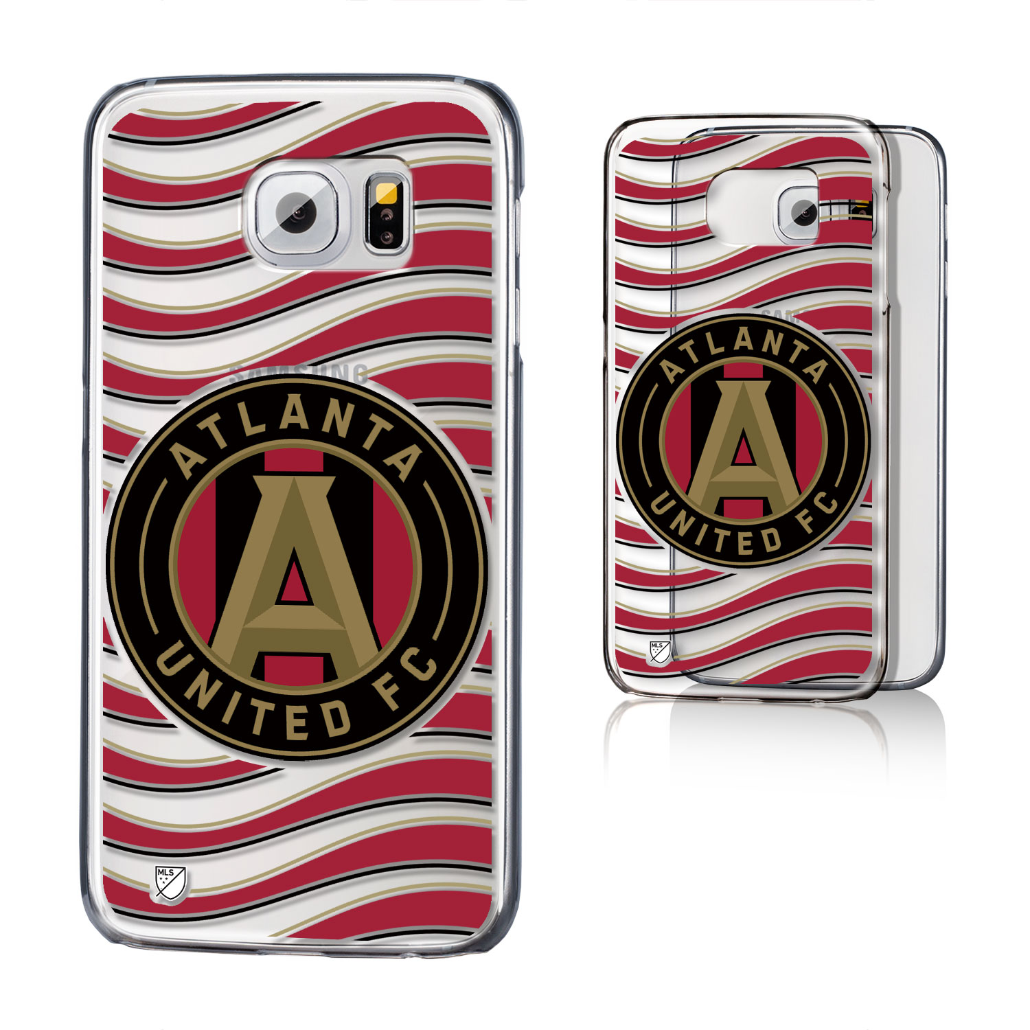 Atlanta United FC Clear Case for the Galaxy S6 MLS