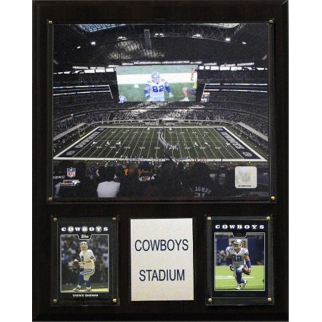 C & I Collectables 1215COWST NFL Cowboys Stadium Stadium Plaque
