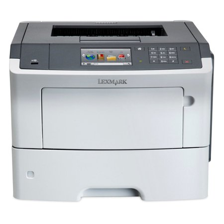 Lexmark MS610DE Laser Printer - Monochrome - 1200 x 1200 dpi Print - Plain Paper Print - Desktop - 50 ppm Mono Print - 650 sheets Standard Input Capacity - 150000 pages per month - Automatic Duplex
