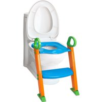 Is Den Haven Potty Training Seat with Ladder - Kids Toilet Trainer 2-in-1 Toddler Step Stool & Portable Travel Seats Steps for Toddlers Baby Girls & Boys