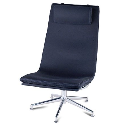 melrose swivel chair black