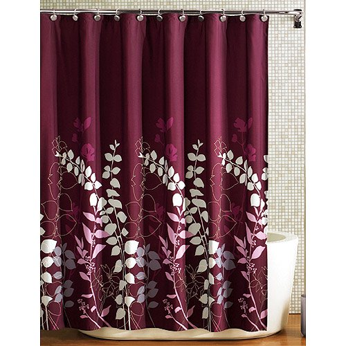 HomeTrends Ashdown Fabric Shower Curtain 1 Each