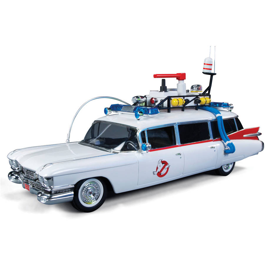 Ghostbusters Car Model Kit: 30th Anniversary Snap Together 1:25 Scale Ecto-1,... by Round 2 LLC