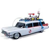 Ghostbusters Car Model Kit: 30th Anniversary Snap Together 1:25 Scale Ecto-1, Multi-Colored
