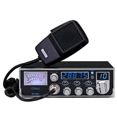 Galaxy DX-86V 10 Meter Amateur Ham Mobile Radio DX86V NEW!! PRO TUNED,