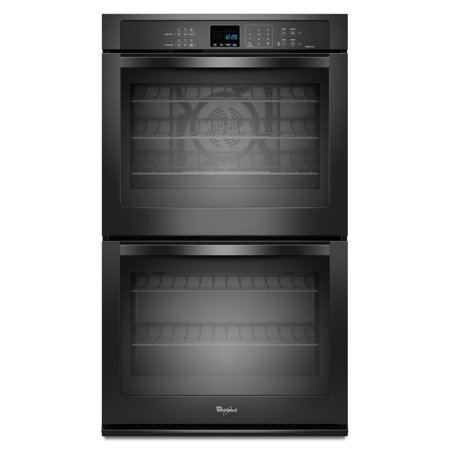 Whirlpool Gold WOD93EC0AB - Oven (double oven) - built-in - niche - width: 28.5 in - depth: 24 in - height: 50.2 in - with self-cleaning - black