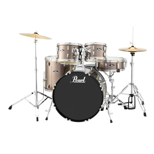 Pearl Roadshow RS525S 5-Piece Drumset w/ Hardware & Cymbals - Bronze