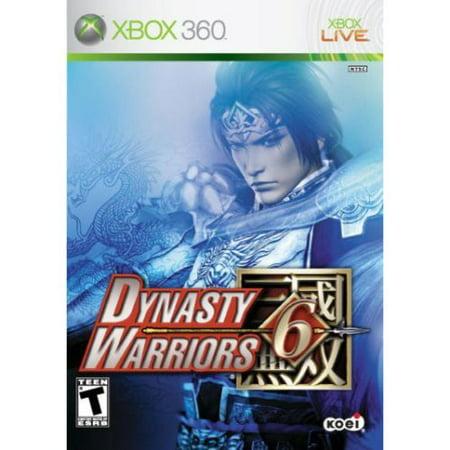 Dynasty Warriors 6 Xbox 360