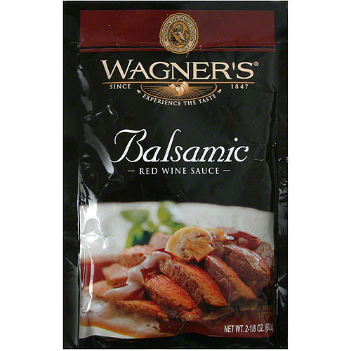 *****DISCONTINUED****Wagner's Balsamic Red Wine Sauce Mix, 2.125 oz (Pack of 6)