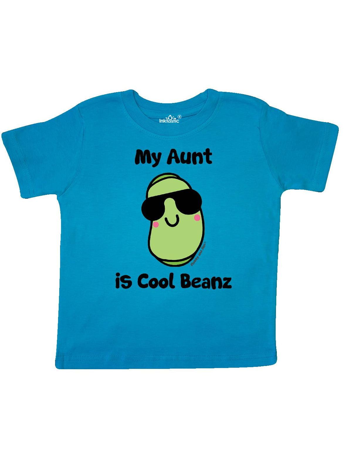 Inktastic Bean Cool Beanz Toddler Dress Funny Clothing Flossyandjim Girls