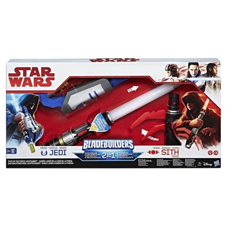 SW Ep8 Choose Your Path Lightsaber 3piece Bladebuilders Hasbro HSBC1412 - Blue Light Saber