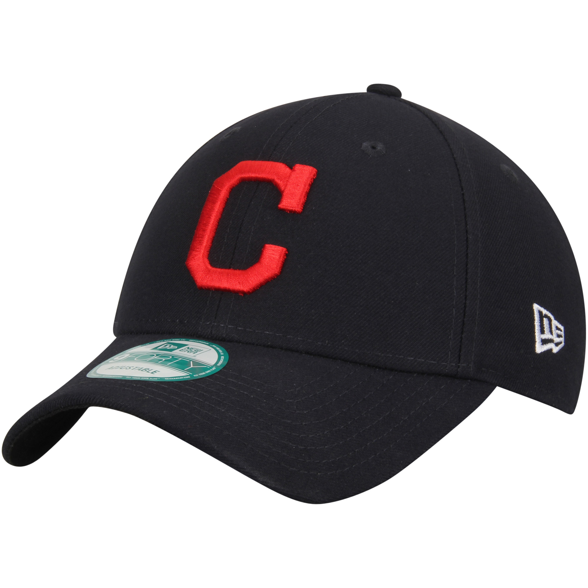 Cleveland Indians New Era League Road 9FORTY Adjustable Hat - Navy - OSFA
