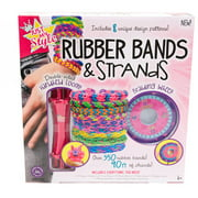 Horizon Group USA Rubber Bands & Strands Jewelry Making Kit