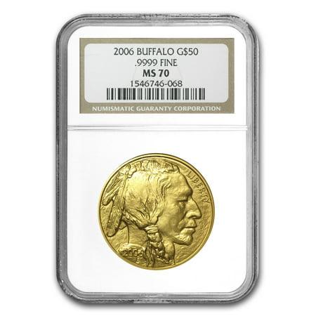 2006 1 oz Gold Buffalo MS-70 -