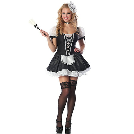 Womens Adult  Room Service Maid (Women's Service With A Smile Costumes)