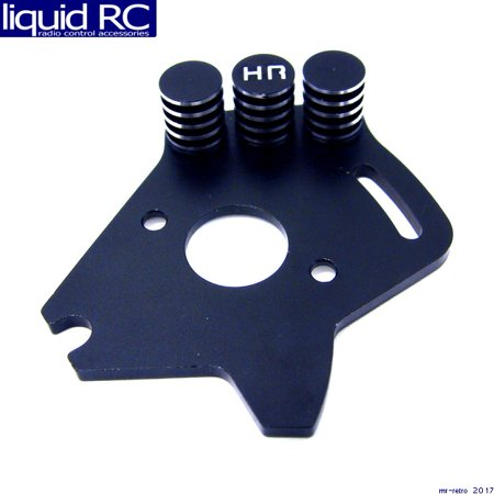 Hot Racing SLF1801 Black Aluminum Heat Sink Motor Plate