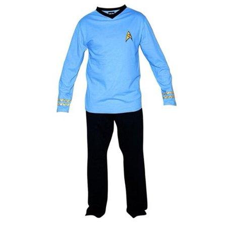Star Trek Adult Officer Uniform Pajama Set - Star Trek Adult Onesie