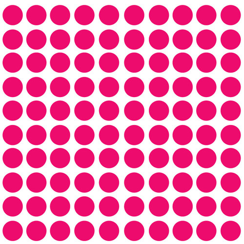 Innovative Stencils Polka Dot Wall Decal (Set of 100)