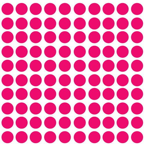 Innovative Stencils Polka Dot Wall Decal (Set of 100)