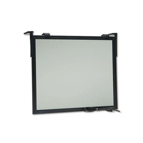 3M EF200XLB Black Framed Anti-Glare Filter Black MMMEF200XLB