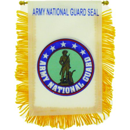 U.S. Army National Guard Flag Mini Banner