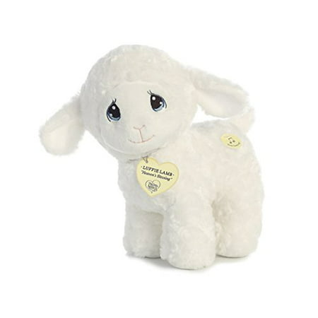 Aurora World Precious Moments Luffie Lamb Wind-Up Musical Toy Jesus Loves Me (Plush Lamb)