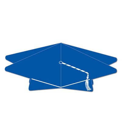 3-D Grad Cap Centerpiece (Pack of - Graduation Cap Centerpieces