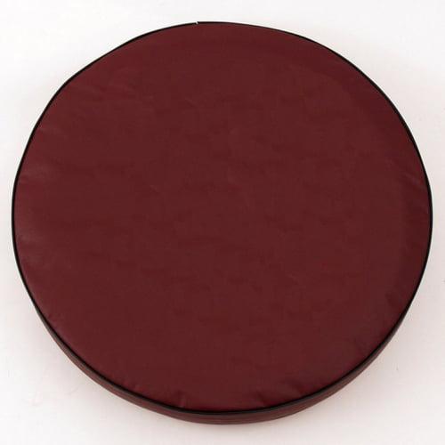 Tire Cover by Holland Bar Stool - Plain Burgundy, 21.50'' x 8''