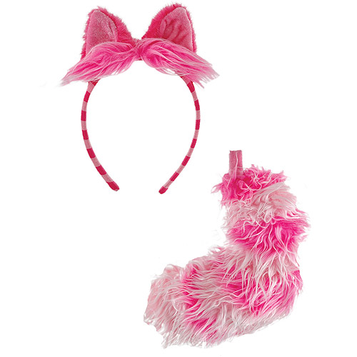 Cheshire Cat Ear and Tail Set Halloween Accessory