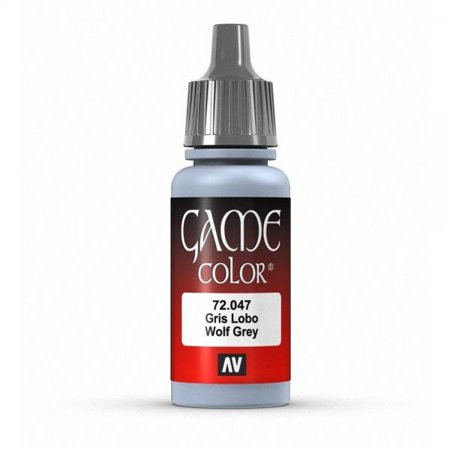 Vallejo Game Color Wolf Grey Paint, 17ml](Wolf Face Paint)