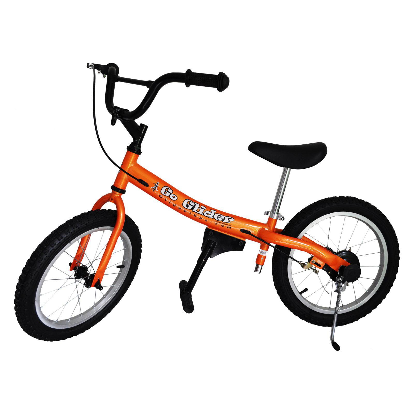 Glide Bikes 16 in. Go Glider Balance Bike - Orange