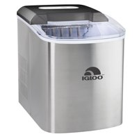 Igloo 26 lb. Countertop Ice Maker ICEB26SS, Stainless Steel