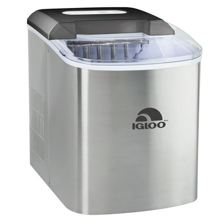 Igloo 26 lb. Countertop Ice Maker ICEB26SS, Stainless