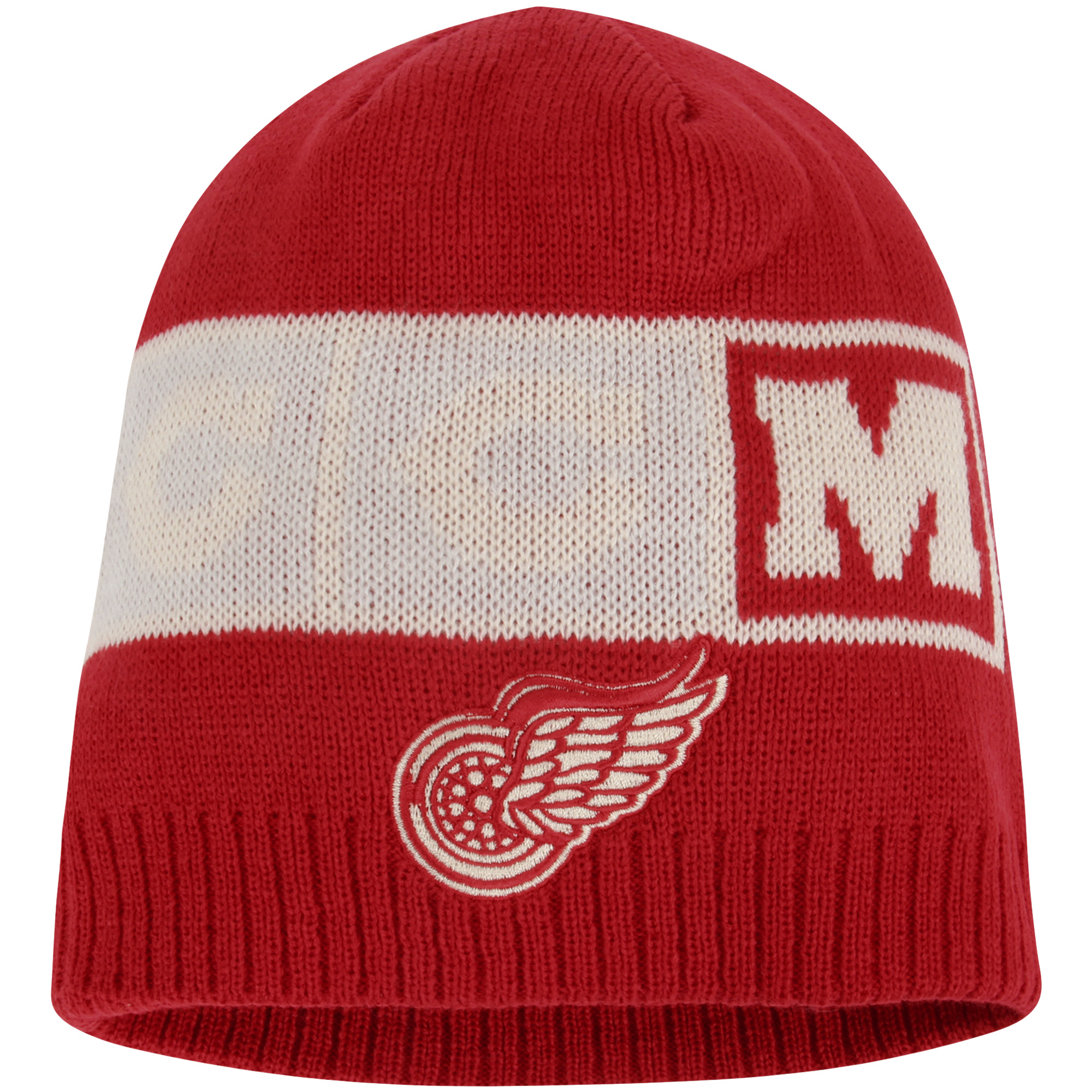 Detroit Red Wings CCM Solid Beanie - Red - OSFA