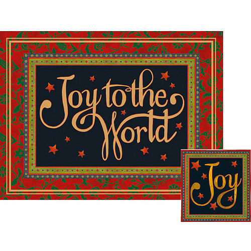 "Lang ""Joy to the World"" Deluxe Boxed Christmas Cards"