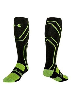 c325852d4 Product Image Under Armour Men's Scent Control Cushion Crew Socks, Rifle  Green/Velocity Green, Medium