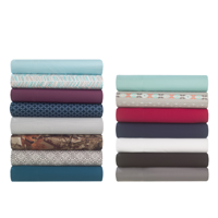 Mainstays Microfiber Sheet Set - Multiple Colors
